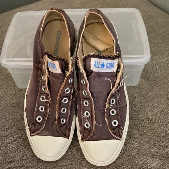 Chuck Taylor's Low Top